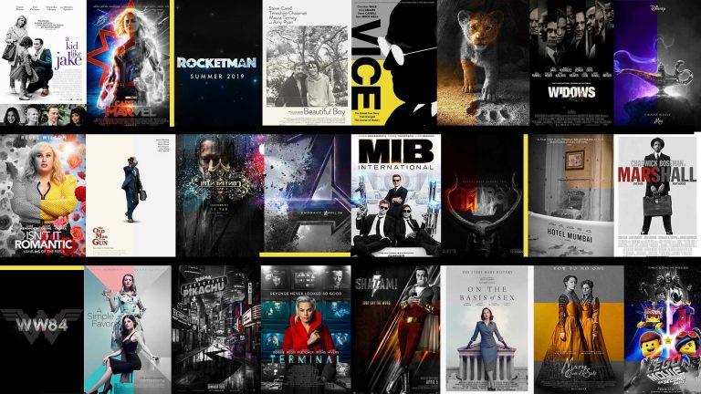 2019 Upcoming Movies