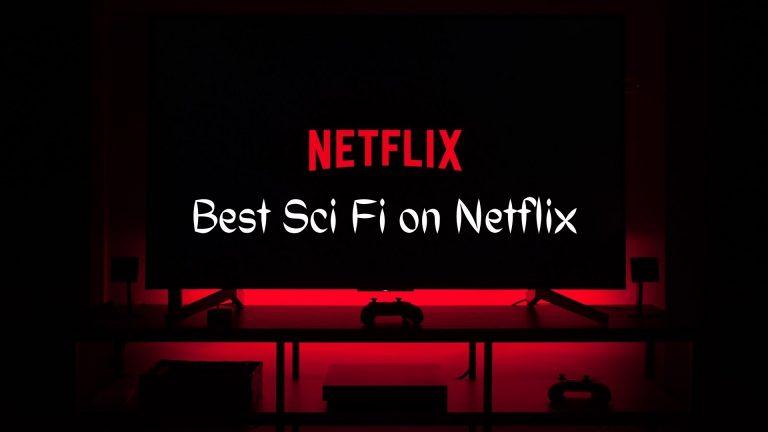 Best Netflix Sci fi shows - series gamer