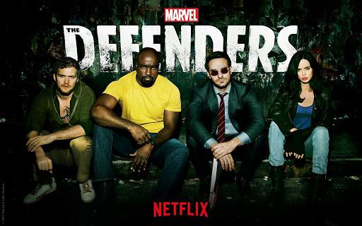 Sci fi Netflix Show - The Defender